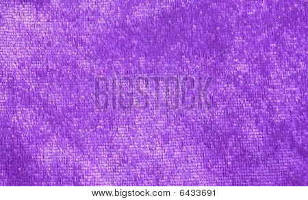 close up image of purple fabric texture poster