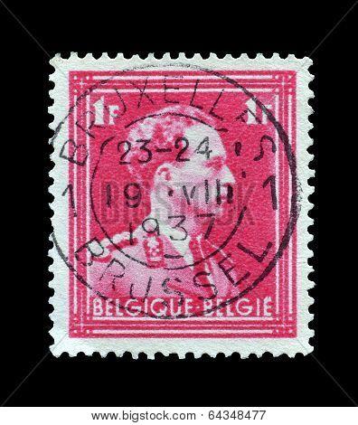 Belgium stamp 1936