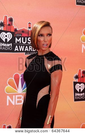 LOS ANGELES - MAY 1:  Giuliana Rancic at the 1st iHeartRadio Music Awards at Shrine Auditorium on May 1, 2014 in Los Angeles, CA