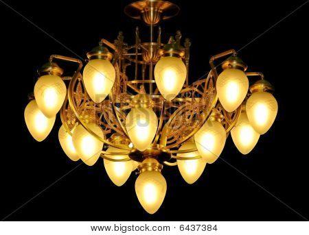 Luxury hanging chandelier