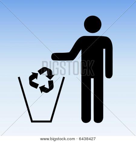 Recycle Trash Sky