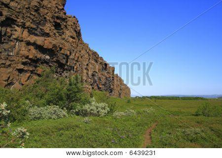 The Asbyrgi Canyon