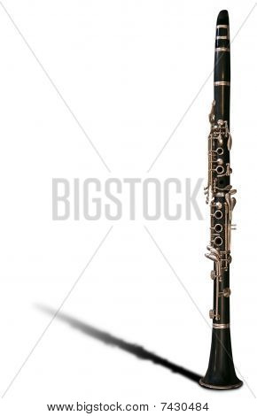 Clarinet - Clipping Path