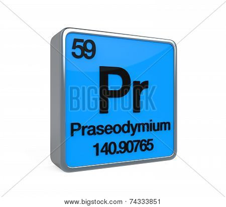 Praseodymium Element Periodic Table