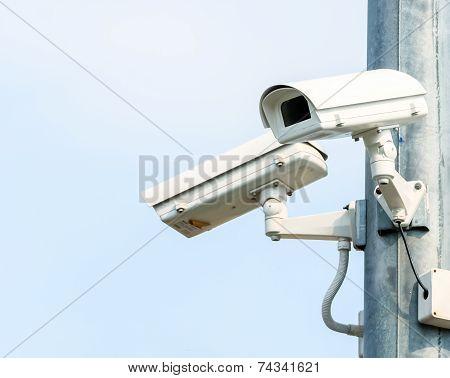 Two Security Cameras, Cctv Camera