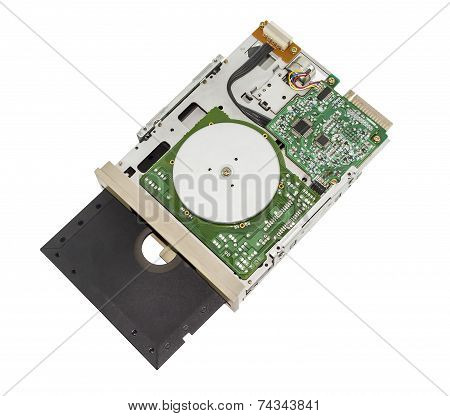 Old Floppy Disk Drive