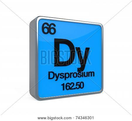 Dysprosium Element Periodic Table
