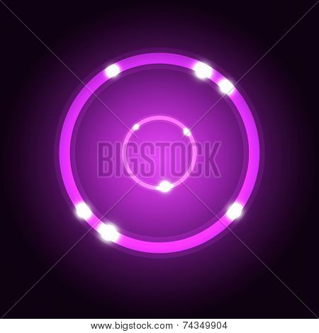 Abstract Background With Violet Circle