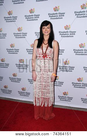 LOS ANGELES - OCT 19:  Ashley Rickards at the 25th Annual