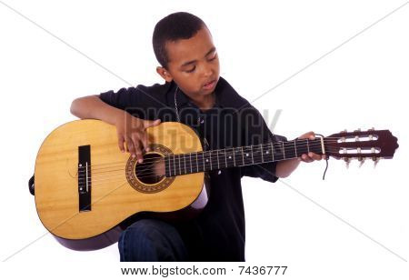 playing a musical instrument