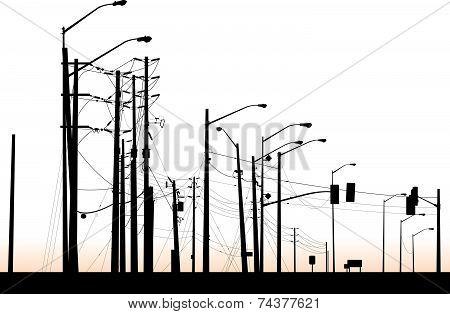 Street Light Cluster