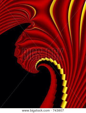 A fractal fan