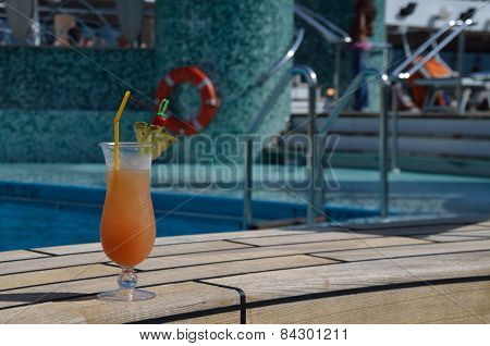 Coctail At The Pool