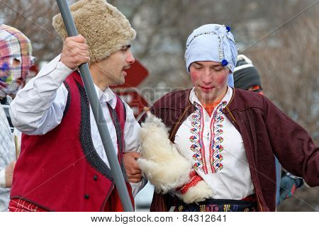 Orthodox christian holiday Shrovetide (Forgiveness Day)