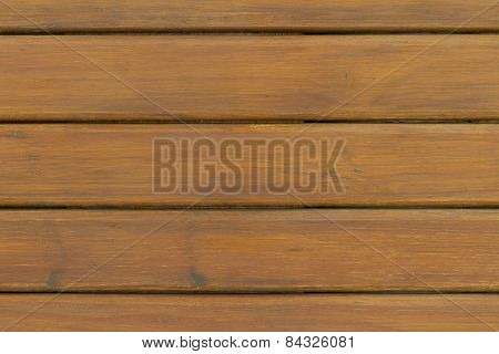 Horizontal Wooden Planks