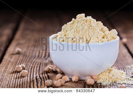 Heap Of Chick Pea Flour