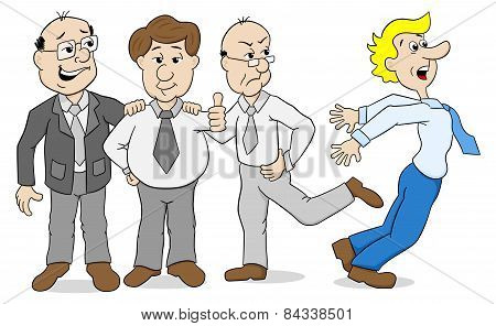 Mobbing - Colleagues Who Bully Another