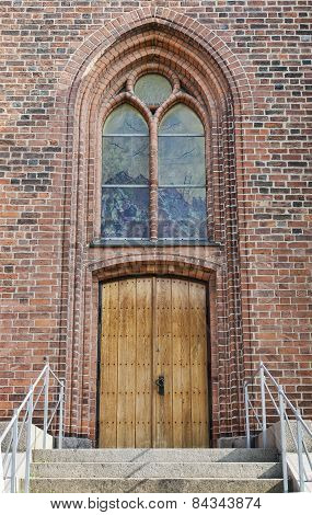 Church Door And Window