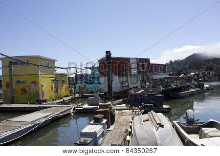 Sausalito Houseboats, Residential community