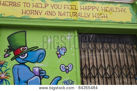Happy High Herbs Shop In San Francisco
