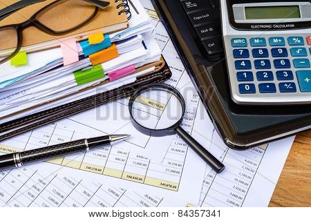 Business Financial Accounting Calculate