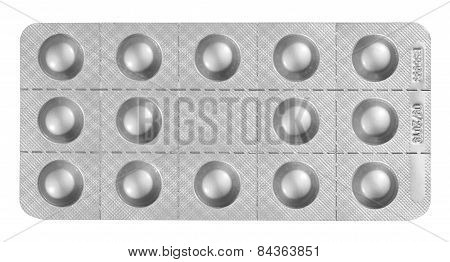 Blister Packet Of Pills