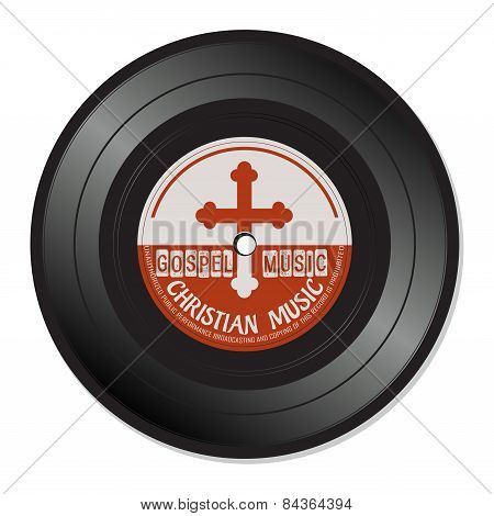 Gospel music vinyl record