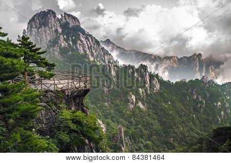 Yellow Mountain Huangshan Terrace