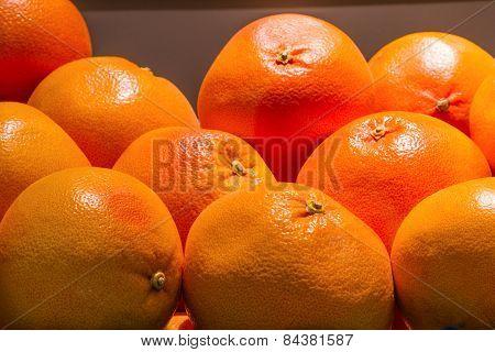 Grapefruit. Grocery Store