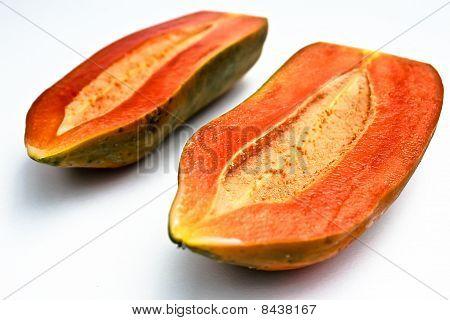 papaya half