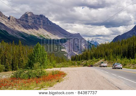 Sunwapta Pass, Icefield Parkway