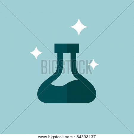 Erlenmeyer Flask Graphic