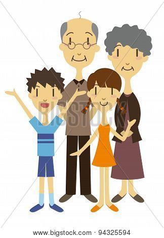 Grandparents And Grandchildren