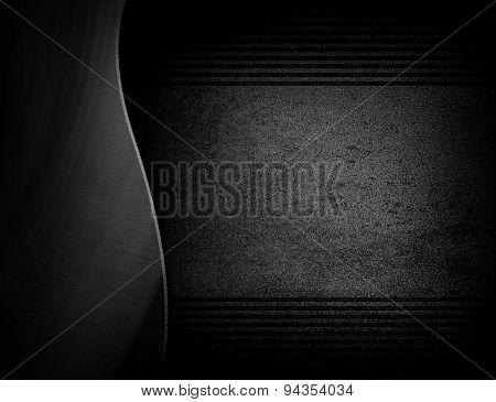 rusty black metal template