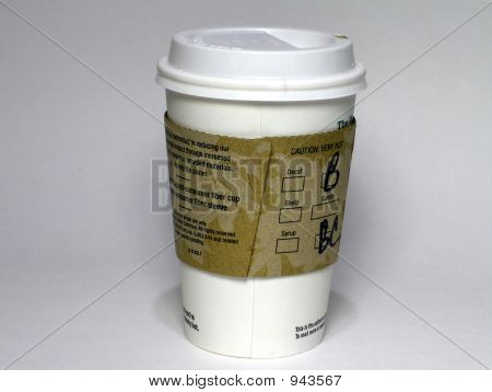 To Go Coffee Cup