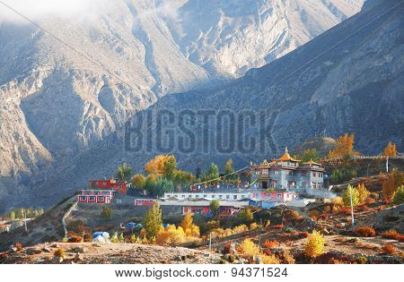 Nepali village of Muktinath