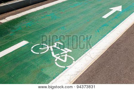 Dedicated Bicycle Lane, Designed To Make Cycling Safer