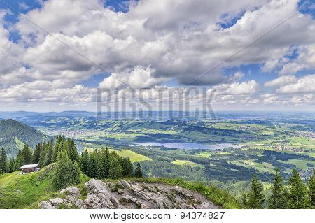 View To Allgaeu