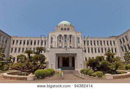 Ehime Prefectural Office (xix C.) In Matsuyama, Japan