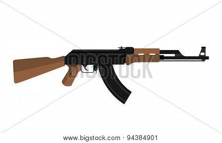 Ak-47 Kalashnikov Assault Rifle