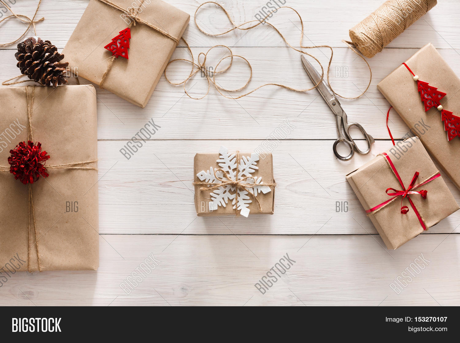 Gift Wrapping. Image & Photo (Free Trial)   Bigstock