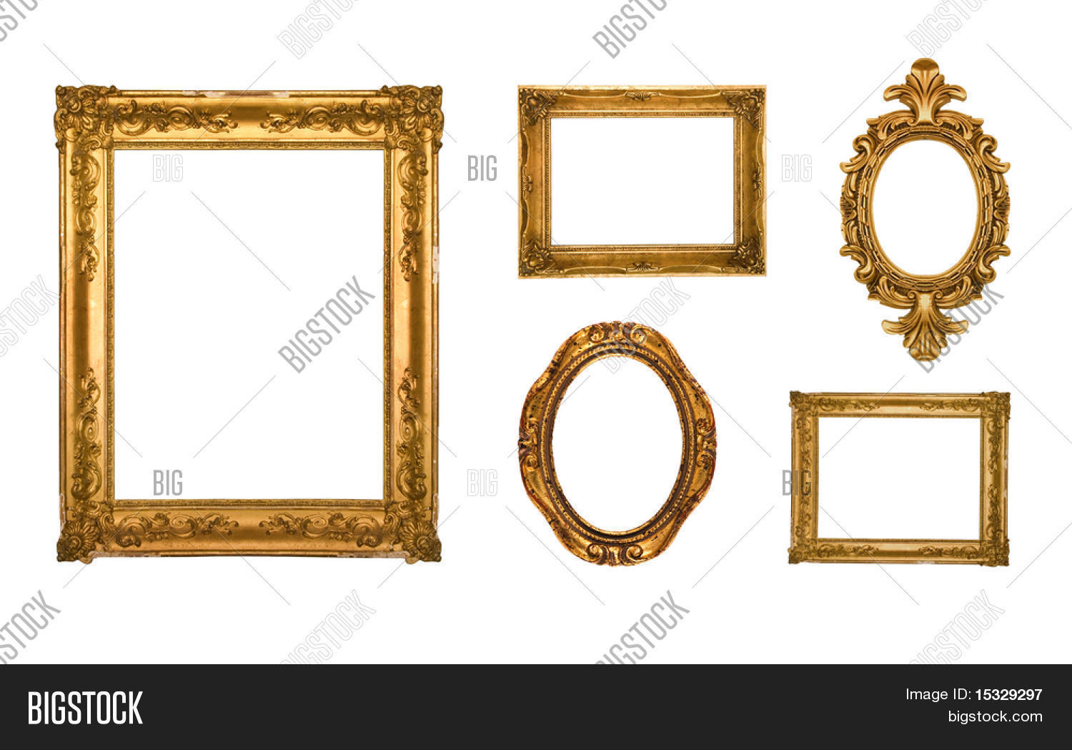 Vintage Gold Ornate Image & Photo (Free Trial) | Bigstock