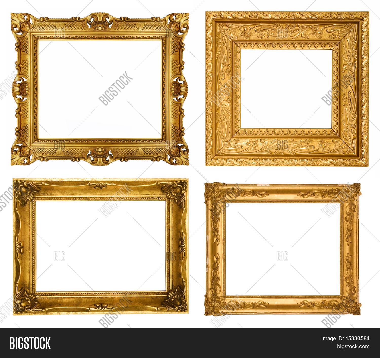 Imagen y foto Marcos De Oro, Conjuntos Similares   Bigstock