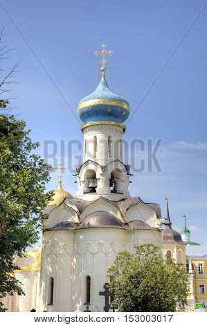 Church of the Descent of the Holy Spirit. Holy Trinity St. Sergius Lavra. Sergiev Posad, Russia.