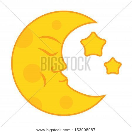 Phases of the moon vector nature cosmos cycle satellite surface. Whole cycle from new moon month to full surface star astrology sphere. Vector illustration moon month astronomy space lunar.
