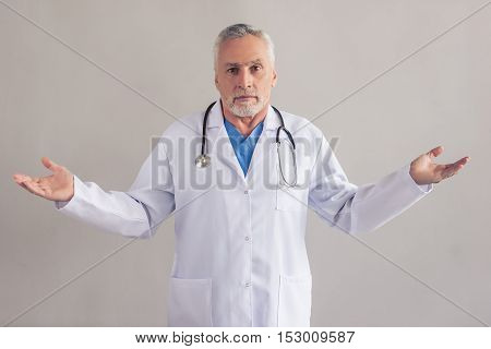 Handsome Mature Doctor