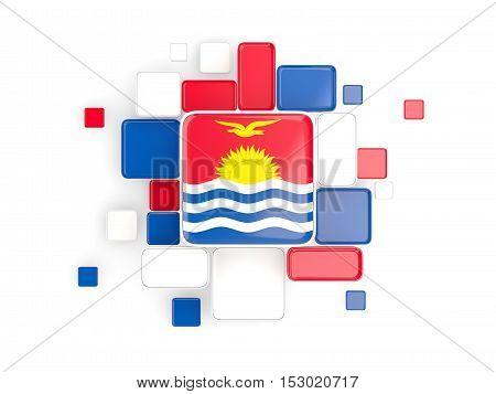 Flag Of Kiribati, Mosaic Background