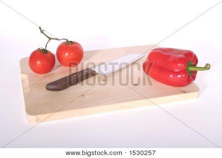 Veggies & Cutting Board
