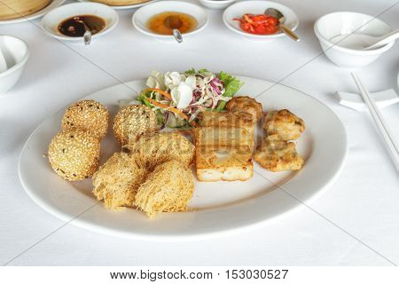 Mix Dim Sum Fried