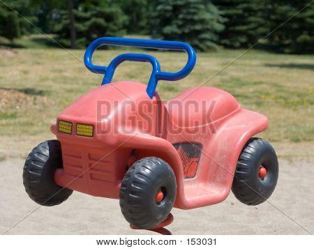 Child's Playground Car